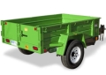 Where to rent 5 X 8 SINGLE AXLE DUMP TRAILER in Windsor CA