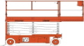 Where to rent 32 H X 46 W SCISSOR LIFT ELECT in Windsor CA